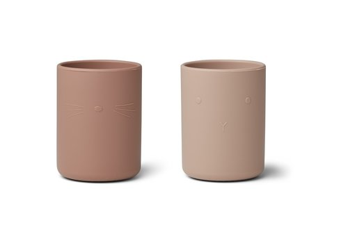 Liewood Liewood Ethan cup - 2 pack Rose mix