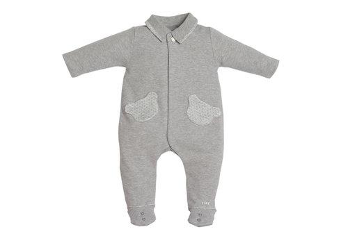 My First Collection First Pyjama 2 Teddy Zakjes Grijs