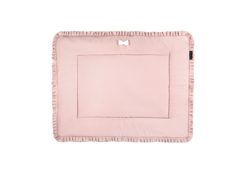 House Of Jamie Playpen Mat 75 x 95 Powder Pink & Stone
