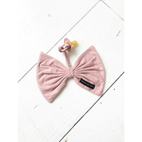 House Of Jamie Pacifier Cord Bow Tie Powder Pink