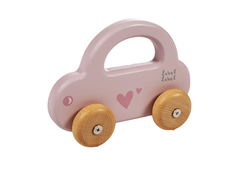 Label-Label Label-Label - Little Car - Pink