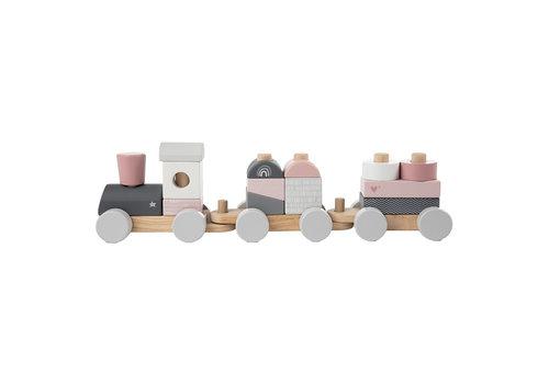 Label-Label Label-Label - Stacking Train - Pink