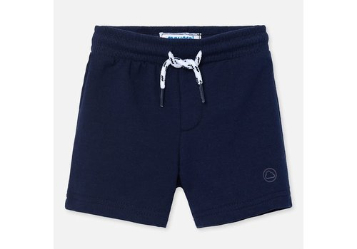 Mayoral Mayoral Basic fleece shorts Navy