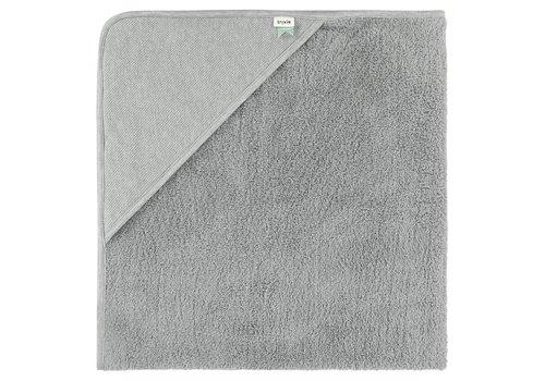 Trixie Trixie Hooded Towel XL - Grain Grey