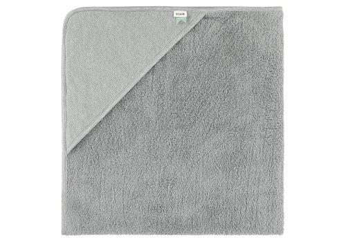 Trixie Copy of Trixie Hooded Towel XL - Grain Grey