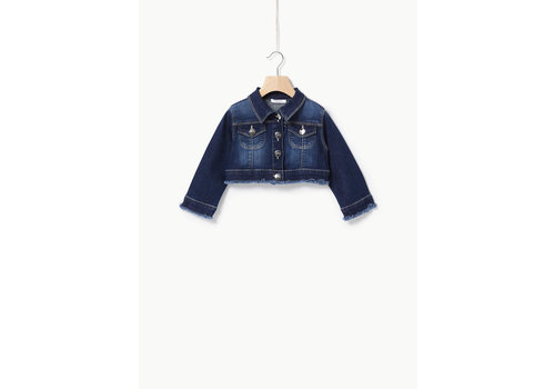 Liu Jo Liu Jo DENIM CO/ST GLAM  - JACKET DEN.BLU LAV.SWEETSTO