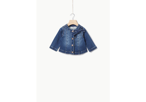 Liu Jo Liu Jo DENIM FLEECE  - JACKET DENIM BLU SIMIL WASH