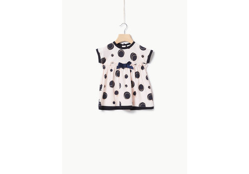 Liu Jo Liu Jo JERSEY CO/EA DOTS  - DRESS ETOILE/MIDNIGHT