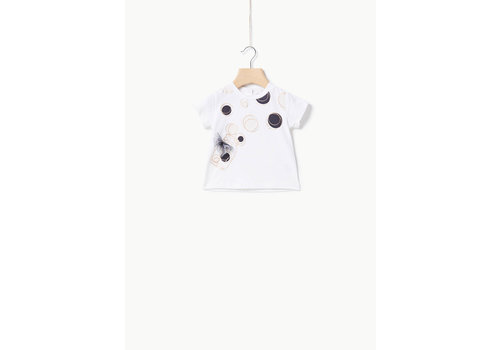 Liu Jo Liu Jo JERSEY CO/EA DOTS JAR - T-SHIRT OFF WHITE