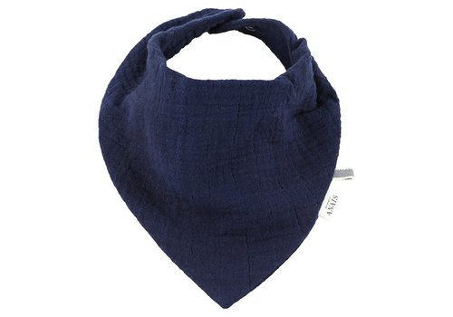 Les Reves D'Anais Bandana Bib - Bliss Blue