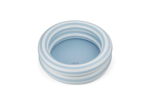 Liewood Liewood Leonore pool Stripe: Sea blue/creme de la creme