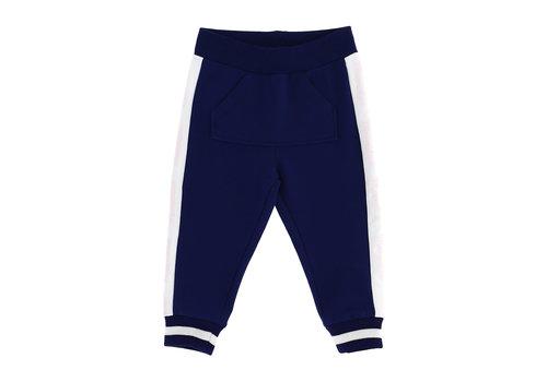 Monnalisa Monnalisa Jogging C/Bande Blu + Bianco