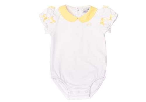 Natini Natini Bodyhemd Diana Bow Yellow