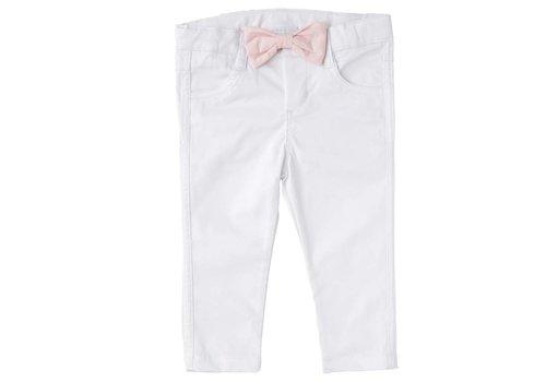 Natini Natini Jeany White Bow Pink