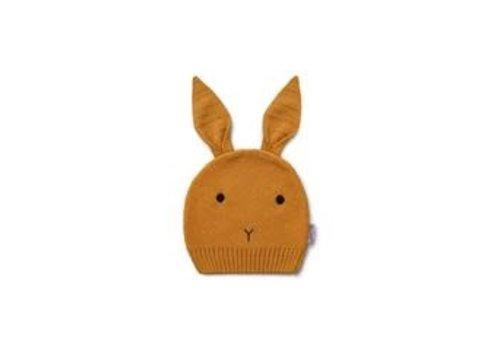 Liewood Liewood Viggo Knit Hat Rabbit Mustard