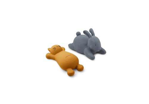 Liewood Liewood Vicky Bath Toys 2 Pack Cat Mustard