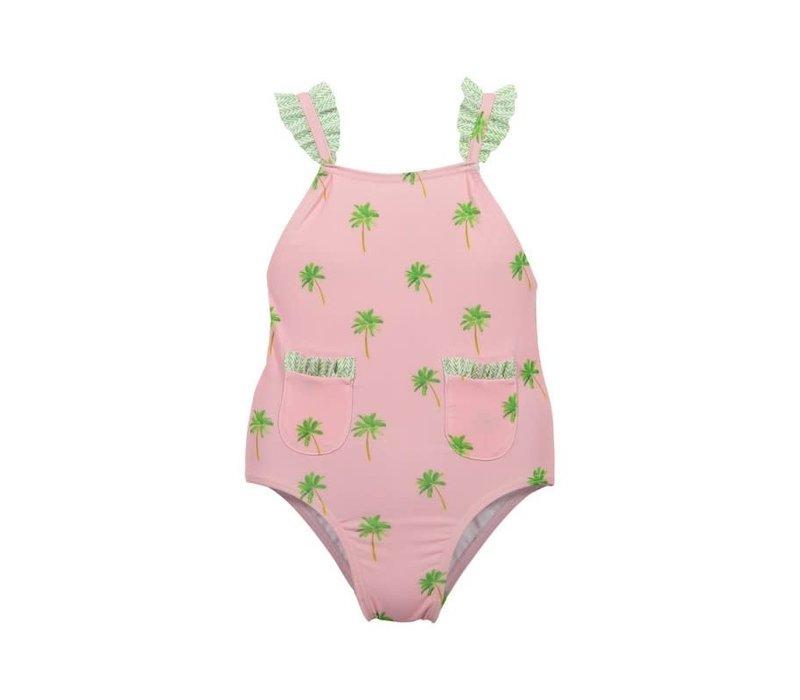 Maria Bianca Palmtrees Bathing Suit