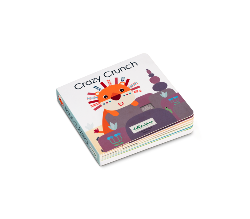 Copy of Lilliputiens Jungle Voelboek Met Geluiden