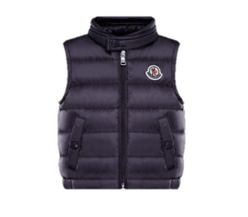 Moncler New Amaury Vest Navy F19511A10300