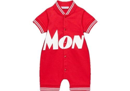 Moncler Moncler Romper Red F19518L70320