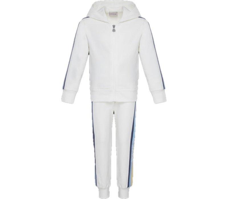 Moncler Set Top + Shorts Natural F19548M71710