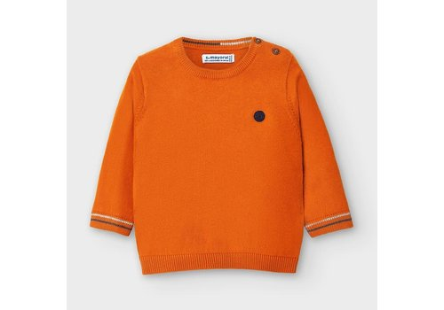Mayoral Mayoral Basic Crew Neck Sweater Cheddar