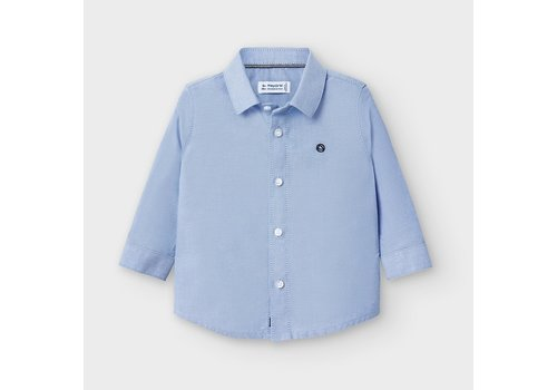 Mayoral Mayoral L/s Basic Oxford Shirt Lavender