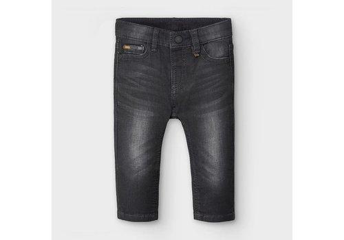 Mayoral Mayoral Soft Denim Pants Black