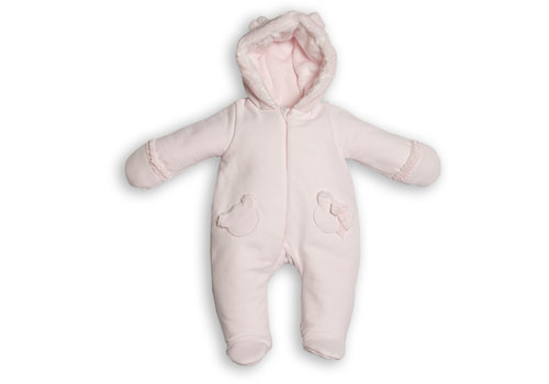 My First Collection First Teddy Hooded Pilote Pink