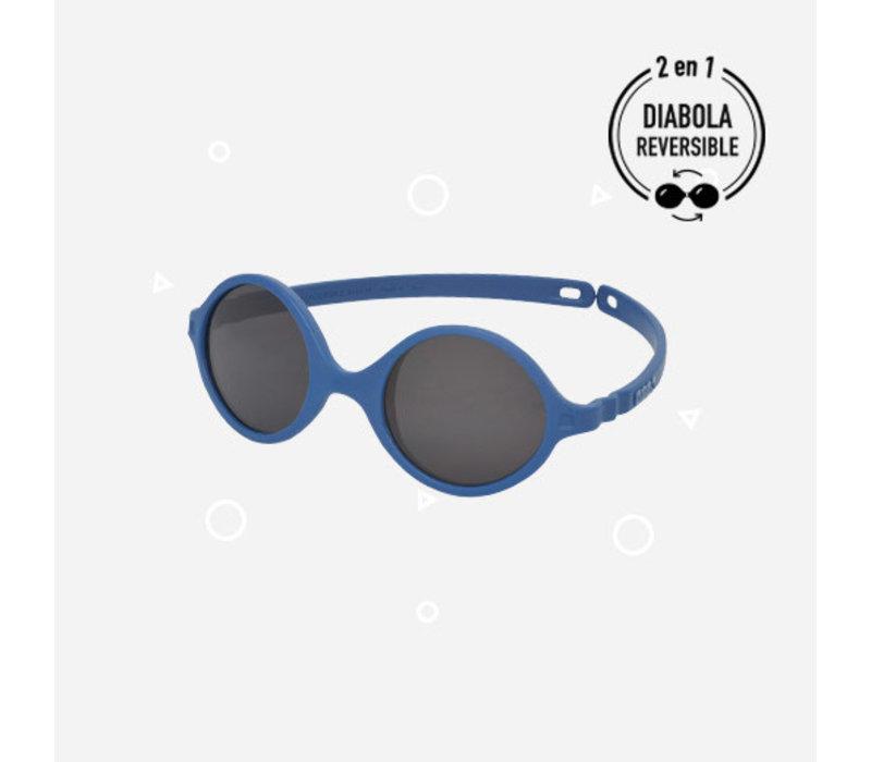 Ki ET LA Zonnebril Diabola 0-1A Blue Denim