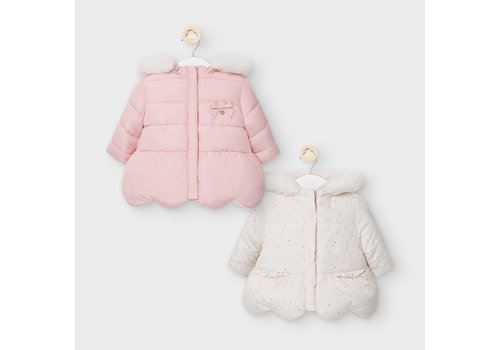 Mayoral Mayoral Reversible Coat Blush