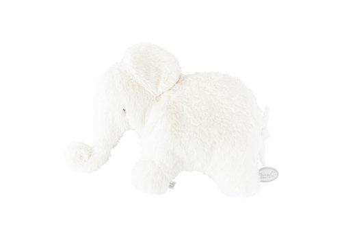 Dimpel Dimpel Cuddly Toy Elephant Oscar Pancake White