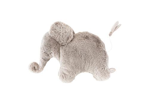 Dimpel Dimpel Musical Cuddly Toy Elephant Oscar Beige