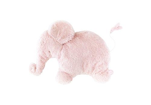 Dimpel Dimpel Musical Cuddly Toy Elephant Oscar Pink