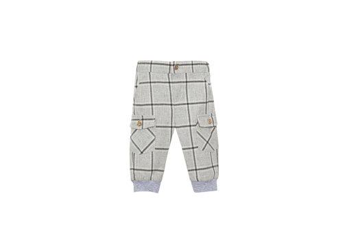 Patachou Patachou Baby Boy Pants Woven Light Grey Check