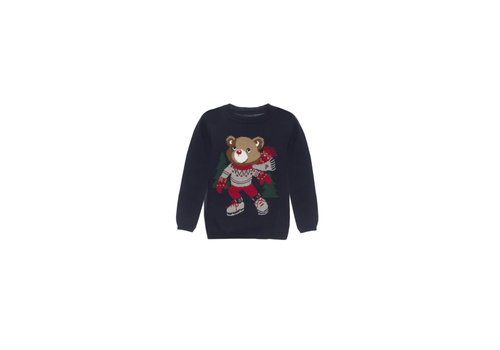 Patachou Patachou Boy Sweater Tricot Marine