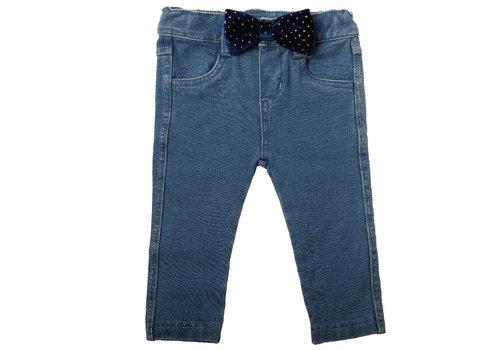 Natini Natini Jeany Jeans Bow Velvet Blue
