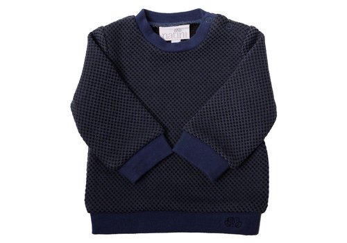 Natini Natini Sweater Lewis Blue Black