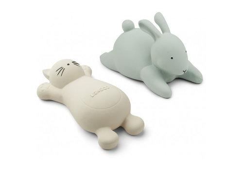 Liewood Liewood Vicky Bath Toys 2 Pack Cat Creme De La Creme