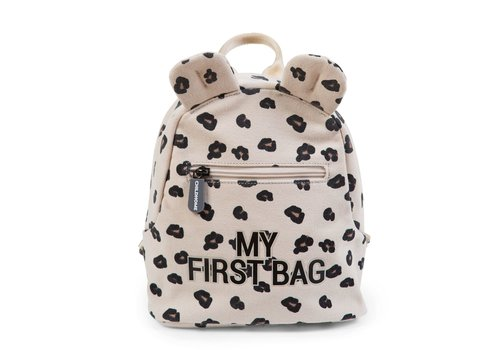 Childhome Childhome Rugzak My First Bag Canvas Leopard