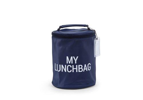 Childhome Childhome Kids My Lunchbag + Isothermisch Blauw/Wit