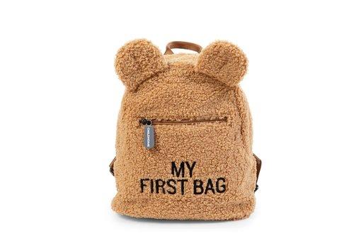 Childhome Childhome Rugzak My First Bag Teddy Beige
