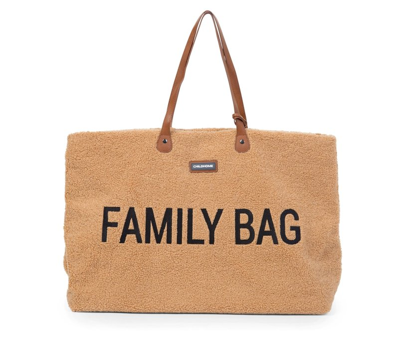 Childhome Family Bag Teddy Beige