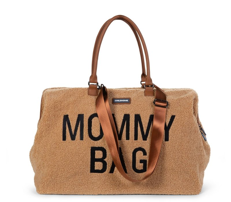Childhome Mommy Bag Groot Teddy Beige