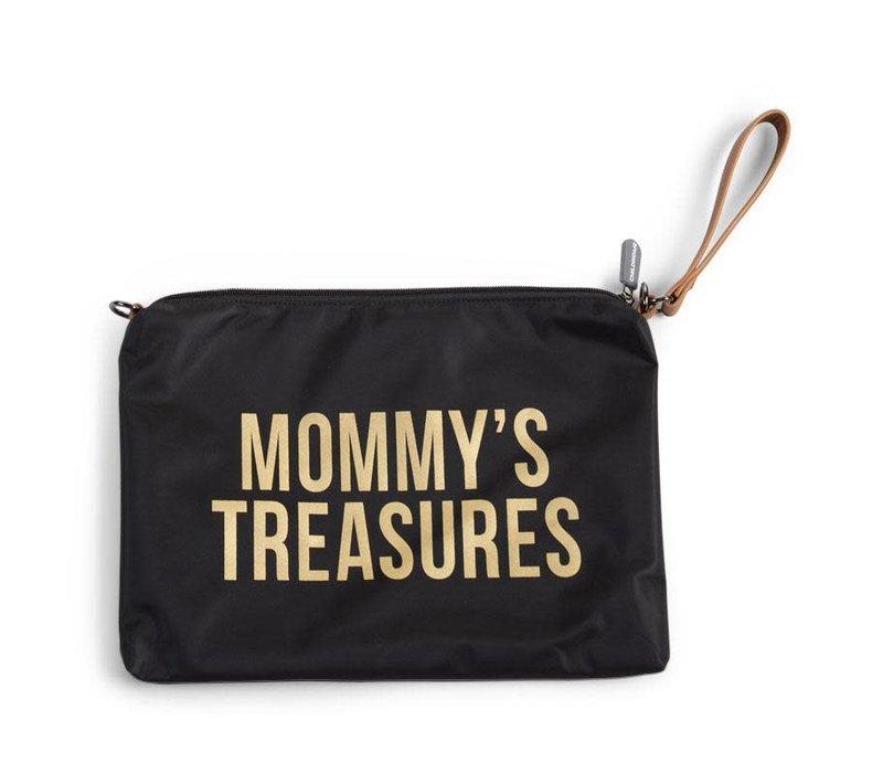 Childhome Mommy Clutch Toilettas Black Gold