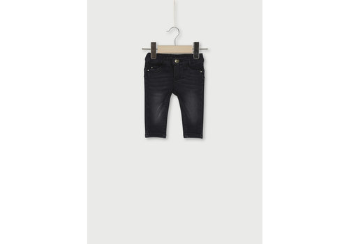 Liu Jo Liu Jo Denim Fleece Pants Den.Nero Essent.Wash HF0026-F0800-87023