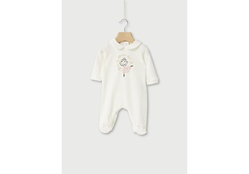 Liu Jo Liu Jo Fleece Jump Suit Sn.White/Dancer HF0010-J6050-T9377