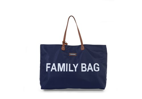 Childhome Childhome Family Bag Blauw/wit