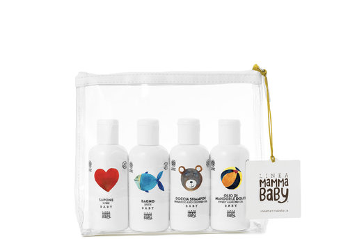 Linea MammaBaby Linea MammaBaby Reisset Cosmos Natural 4x100ml