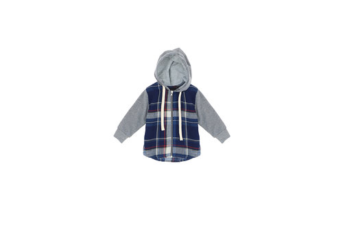 Please Please Full Zip Cappuccio LK13-103B